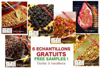 6 Échantillons Gratuits d'Épices Thiercelin 1809