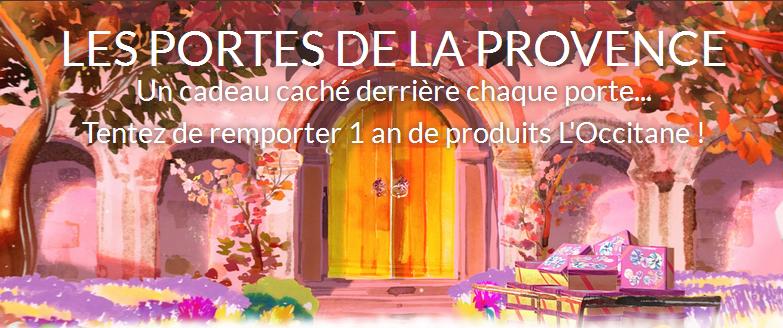1 an de produits de beauté L'Occitane à gagner !