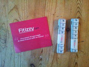 Échantillon Gratuit mètre ruban fitizzy à recevoir !