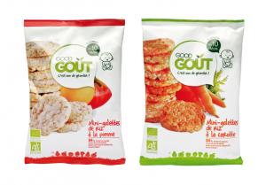 test produit de 35 Assortiments de 2 mini-galettes de riz