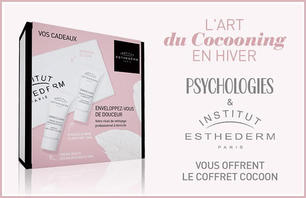 Coffret Cocooning Gratuit : 2 échantillons Institut Esthederm !