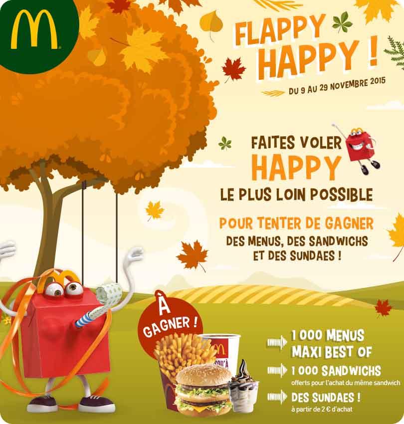 "Instant Gagnant McDonald's 1000 menus ""Best Of"" à gagner !"