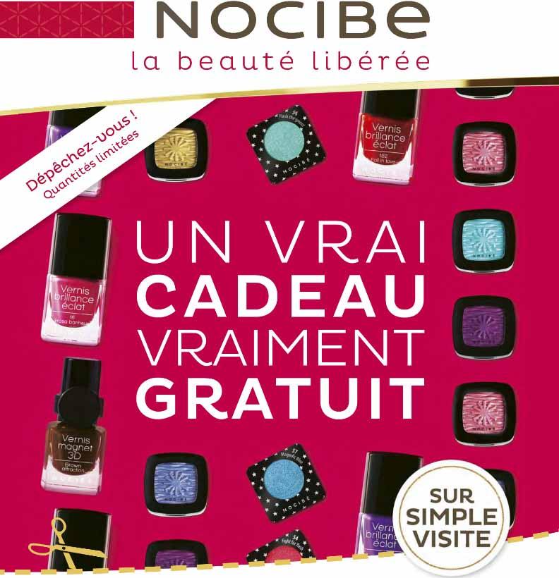 Produit maquillage Nocibé Gratuit !