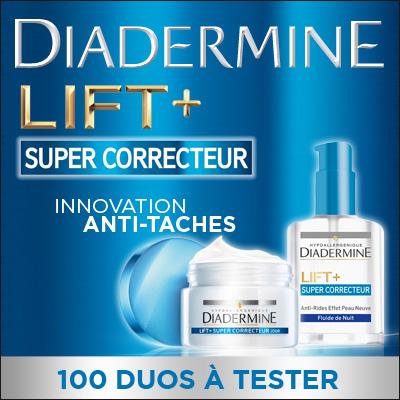 100 Duos Diadermine LIFT+ SUPER CORRECTEUR à tester !