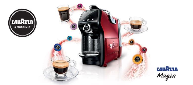 Jeu Concours 21 machines à café Maggia de Lavazza à gagner