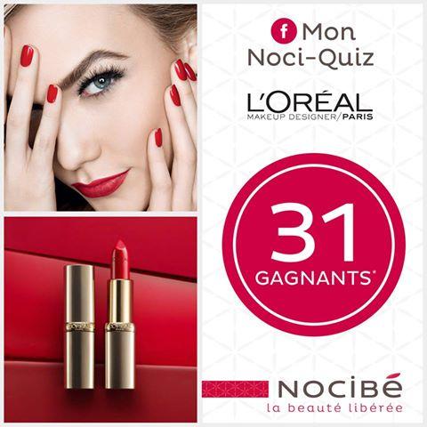 Jeu Concours Nocibé : 31 Trousses Make-Up L'Oréal à gagner