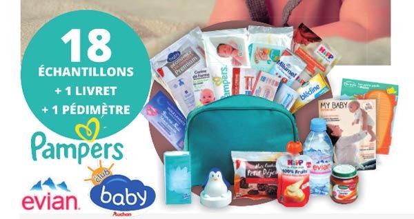 20'000 Trousses de naissance Bébé Offerte Gratuitement par le Club Baby Auchan !
