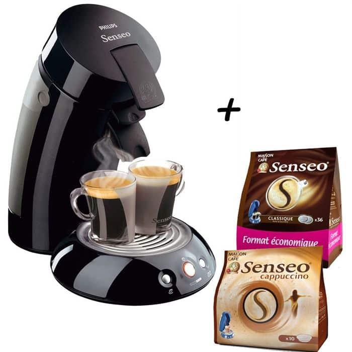 Gagner des cadeaux gratuitement Machines à café et Dosettes SENSEO !