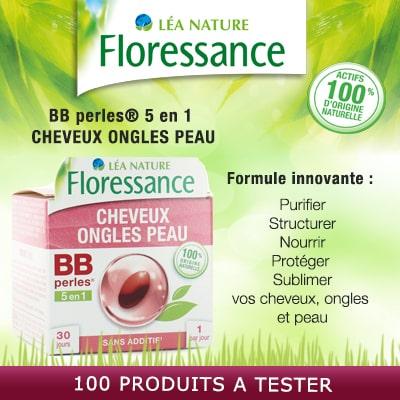 Test Produit Gratuit 100 BB perles 5 en 1 Floressance à tester !