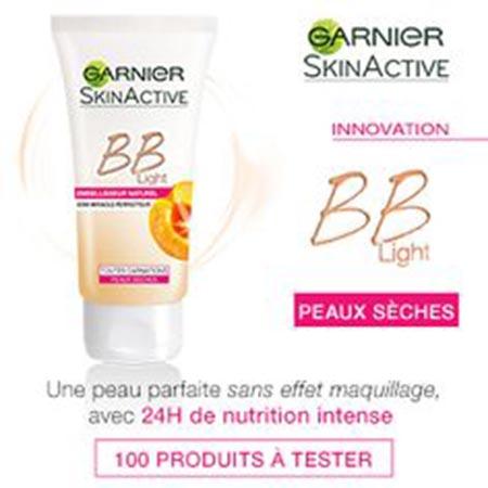 100 crèmes BB LIGHT Peaux sèches de Garnier à gagner !