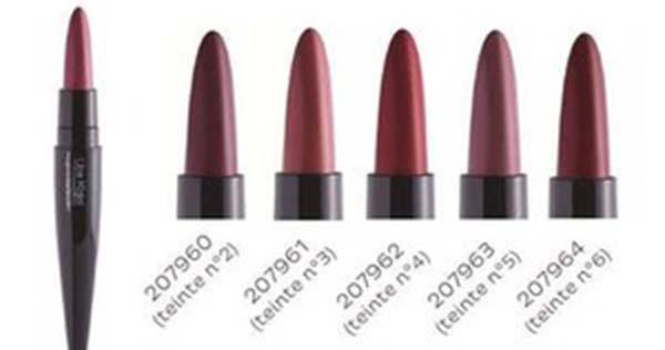 100 rouges à lèvres Lips Kajal longue tenue de Nocibé à tester !
