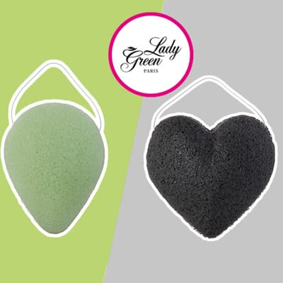 30 Éponges konjac Lady Green Bio à tester ! - Test produit gratuit