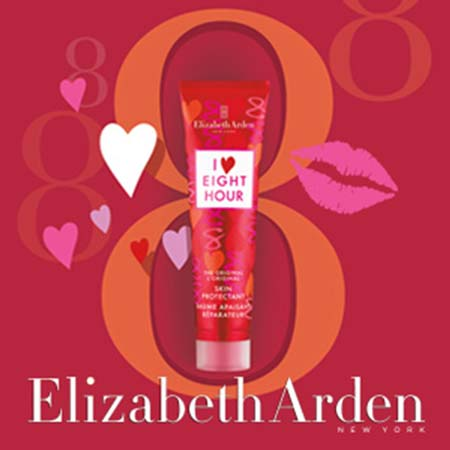 40 lots I Love Eight Hour Elizabeth Arden à gagner avec Marionnaud !