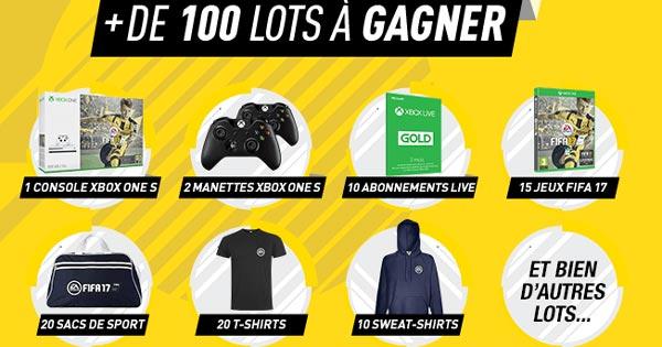 Jeu Auchan 103 cadeaux gratuits EA Sports Fifa 17 à gagner !