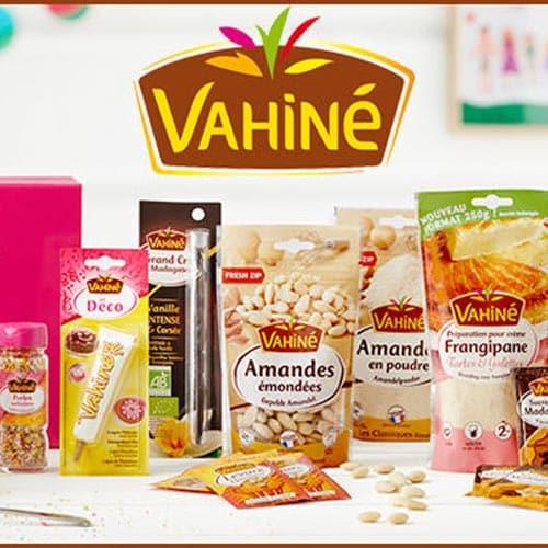 30 mallettes de fruits secs à pâtisser Vahiné gratuites à gagner !