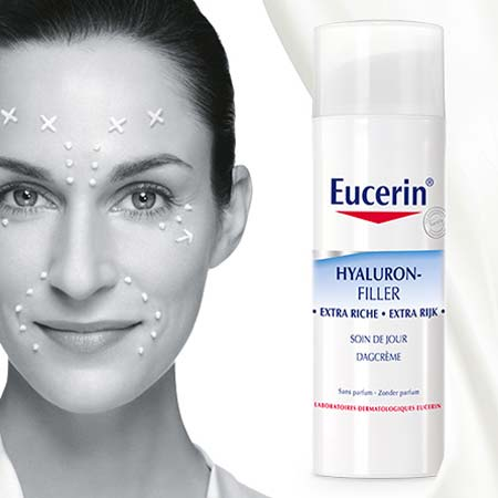 100 soins Hyaluron Filler Extra Riche de Eucerin à tester ! - Test Produit