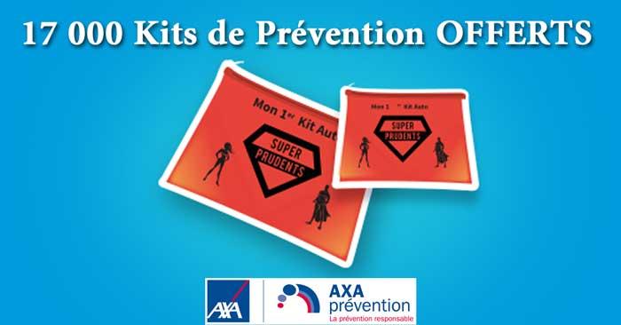 17 000 Kits de Prévention routière Offerts par AXA Préventions