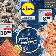 Catalogue Lidl | Promotions Du 04 Au 10 Octobre 2017
