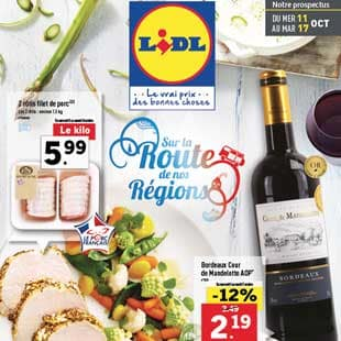 Catalogue Lidl | Promotions du 11 Au 17 Octobre 2017