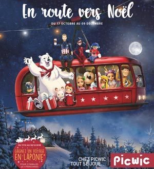Catalogue Picwic Noël 2018