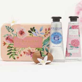 Duo Mains Douces Gratuit sur simple visite en boutique L'Occitane
