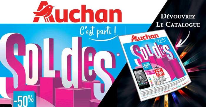 Catalogue Auchan Soldes hiver 2018