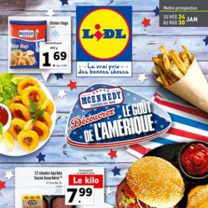 Catalogue Lidl Du 24 Au 30 Janvier 2018