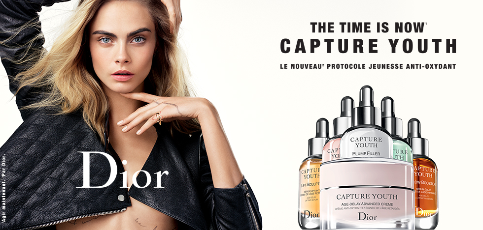 Échantillon Gratuit routine Capture Youth de Dior & Sephora