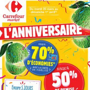 Catalogue Carrefour Market Du 20 Mars Au 1er Avril 2018