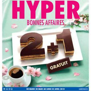 Catalogue Carrefour Du 20 Mars Au 02 Avril 2018