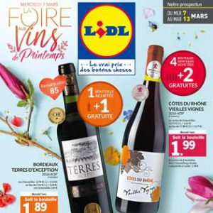 Catalogue Lidl Du 07 Au 13 Mars 2018