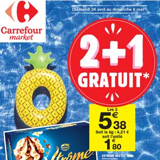 Catalogue Carrefour Market Du 24 avril Au 06 mai 2018