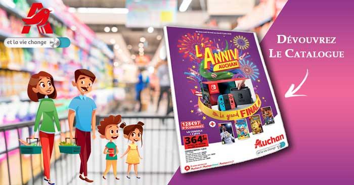 Catalogue Auchan Du 30 Mai Au 05 Juin 2018 - L'ANNIV AUCHAN