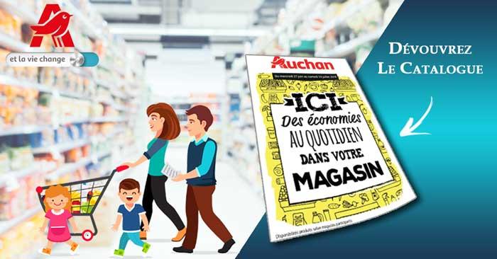 Catalogue Auchan Du 27 Juin Au 14 Juillet 2018