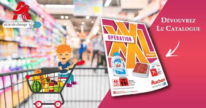 Catalogue Auchan Opération XXL Du 06 Au 12 Juin 2018