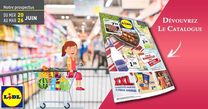 Catalogue Lidl Du 20 Au 26 Juin 2018