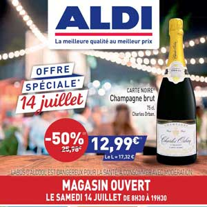 Catalogue Aldi Du 11 Au 17 Juillet 2018