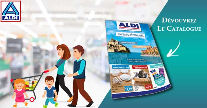 Catalogue Aldi Du 1er Au 7 Août 2018