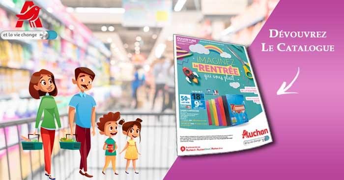 Catalogue Auchan Du 14 Au 21 Août 2018 Spécial Rentrée