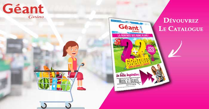 Catalogue Géant Casino Du 21 Août Au 2 Septembre 2018
