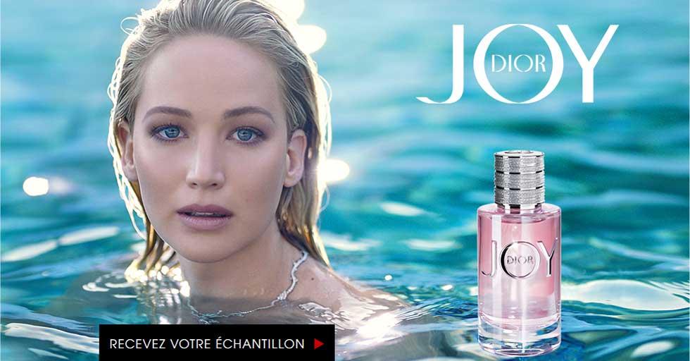 Échantillon Gratuit du Parfum JOY de Dior by Christian Dior