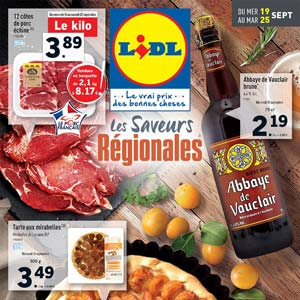 CATALOGUE LIDL Du 19 Au 25 Septembre 2018