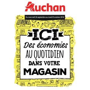 Catalogue Auchan Du 26 Septembre Au 9 Octobre 2018