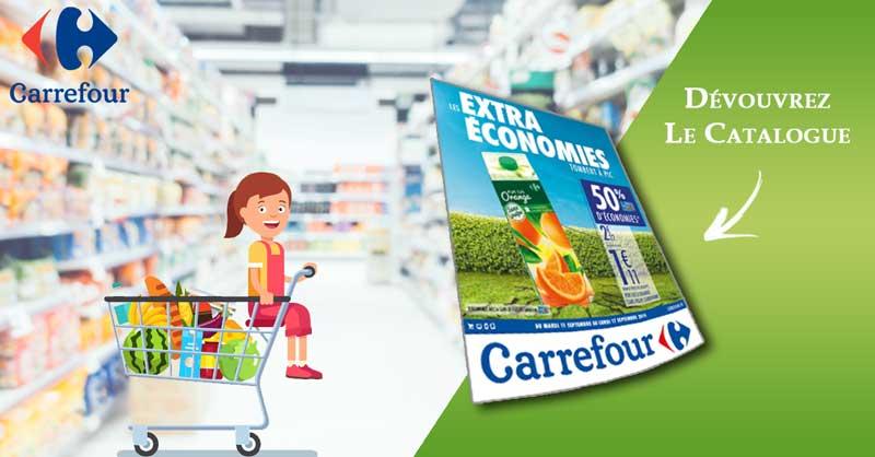 Catalogue Carrefour Du 11 Au 17 Septembre 2018 «Les Extra Économies Tombent à Pic 9»