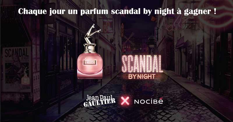 Jeu Nocibé 30 Parfums Scandal By Night Jpg à Gagner
