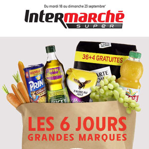 Prospectus Intermarché Super Du 18 Au 23 Septembre 2018