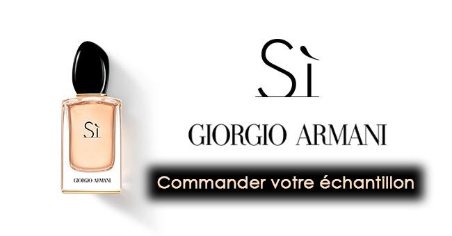 Échantillon Gratuit Eau de Parfum Si de Giorgio Armani
