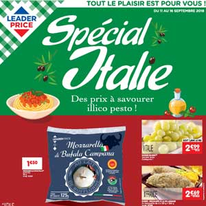 Catalogue Leader Price Du 11 Au 16 Septembre 2018
