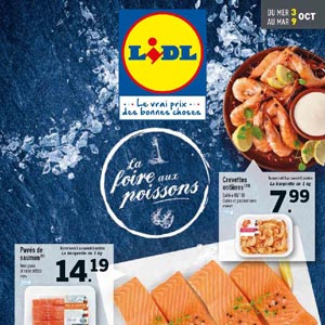Catalogue Lidl Du 3 Au 9 Octobre 2018