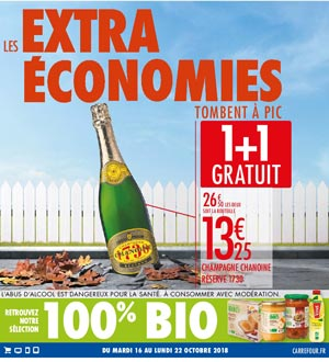 Catalogue Carrefour Du 16 Au 22 Octobre 2018